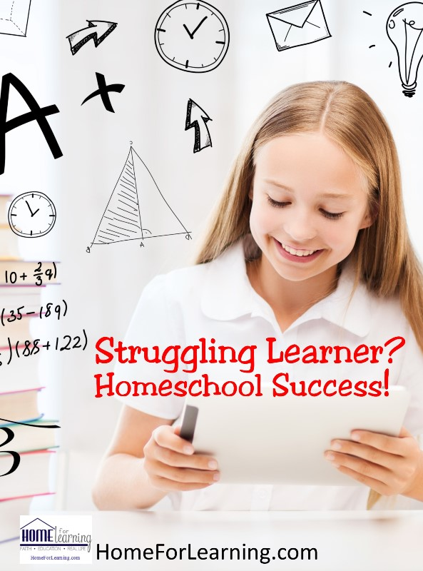 Struggling Learner Homeschool Success