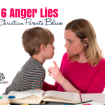 Anger Lies Christian Parents Believe