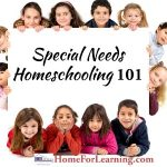 Special Needs Homeschooling 101