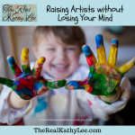 Raising Artists without Losing Your Mind with Lesli Richards