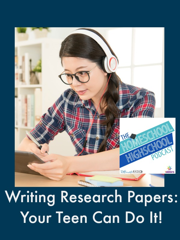 HSHSP Ep 61: Writing Research Papers: You Can Do It!