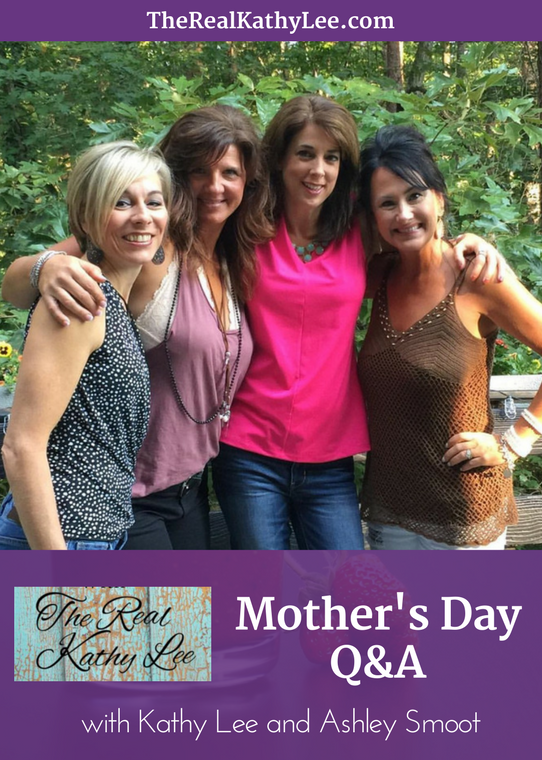 Mother's Day Q&A with Ashley Smooth and The Real Kathy Lee!