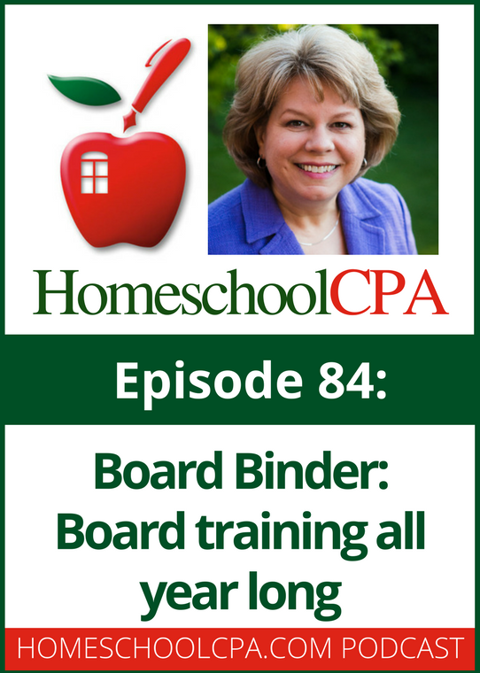 Board Binder: Board Training All Year Long for Homeschool Organizations