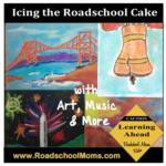 Art & Music Ices a Roadschool Cake