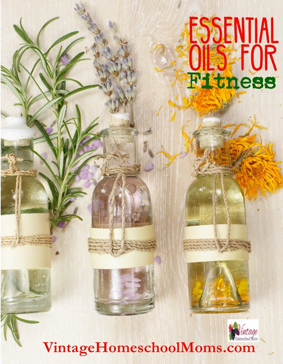 essential oils for fitness