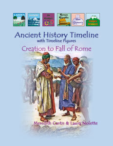 Ancient History Timeline by Meredith Curtis at Powerline Productions, Inc., Finish Well Radio, Podcast #049