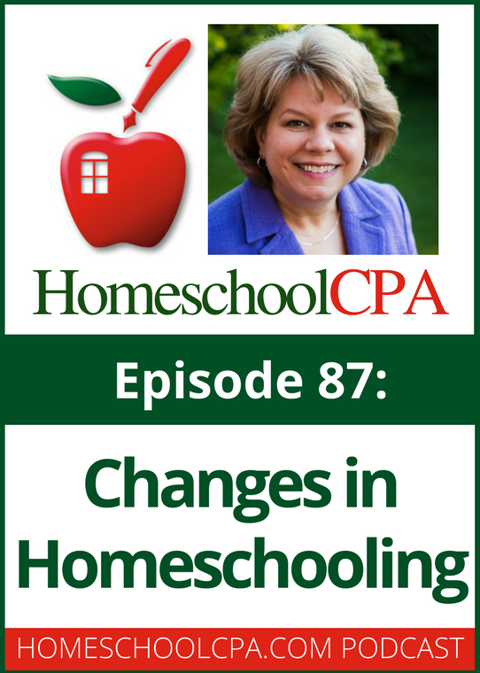 Changes in Homeschooling