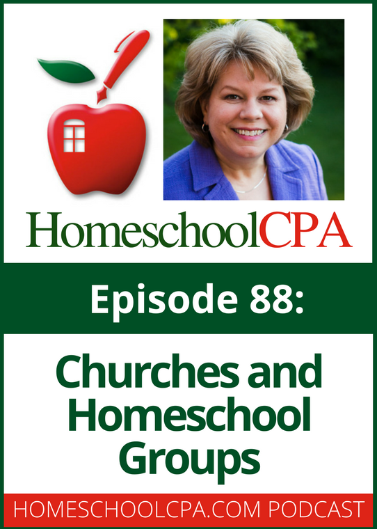 Churches and Homeschool Groups - with the Homeschool CPA