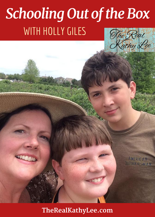 Schooling Out of the Box with Holly Giles of The Giles Frontier
