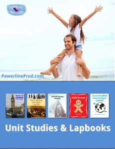 Unit Study Books and Lapbooks by Powerline Productions, Inc., Finish Well Radio, Podcast #049