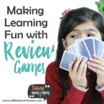 Making Learning Fun with Review Games