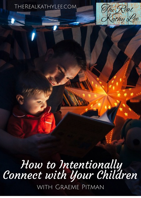 How to Intentionally Connect with Your Children - Image provided by Pitman Photography