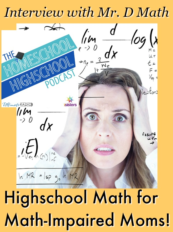 HSHSP Ep 80: Highschool Math for Math-Impaired Moms