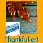HSHSP Ep 86 How to be Thankful-er