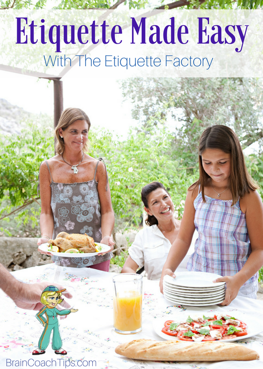 Etiquette Made Easy with The Etiquette Factory