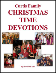 Curtis Family Christmas Traditions