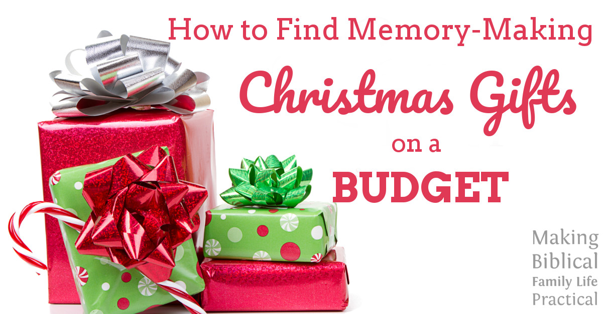 Gift Buying On A Budget – MBFLP 188 Making Biblical Family Life ...