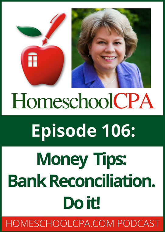Money Tips: Bank Reconciliation - Do It!