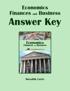 Economics, Finances, and Business Answer Key