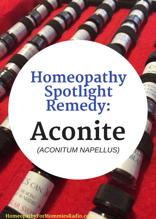 Homeopathic Remedy Spotlight - All About Aconite