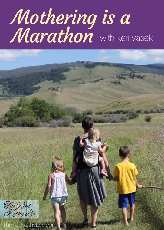 Mothering is a Marathon with Keri Vasek