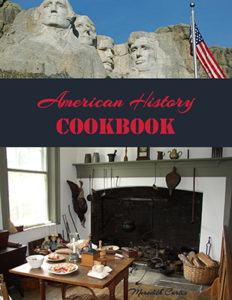 American History Cookbook by Meredith Curtis