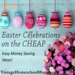 Easter Celebrations On The Cheap