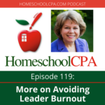 More on Avoiding Leader Burnout