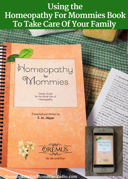 Using the Homeopathy for Mommies Book to Take Care Of Your Family - with Sue Meyer of Homeopathy for Mommies