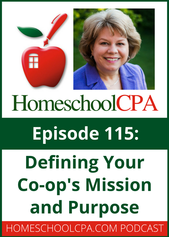 Defining Your Co-op's Mission and Purpose from the Homeschool CPA