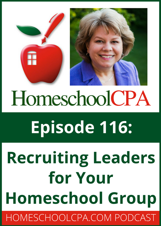 Recruiting Leaders for your Homeschool Group with the Homeschool CPA