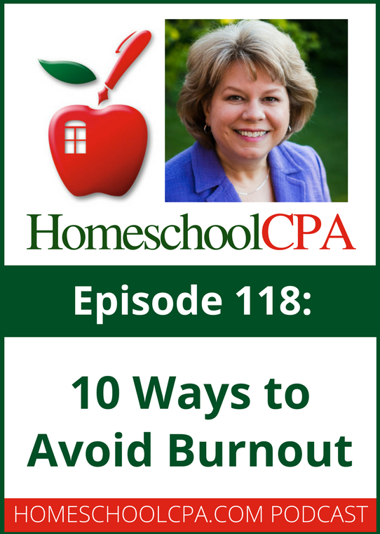 10 Ways to Avoid Burnout in a Homeschool Co-op with the Homeschool CPA