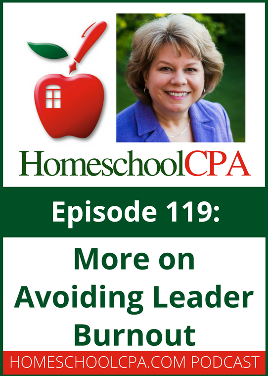 More on Avoiding Leader Burnout in Homeschool Co-ops with the Homeschool CPA