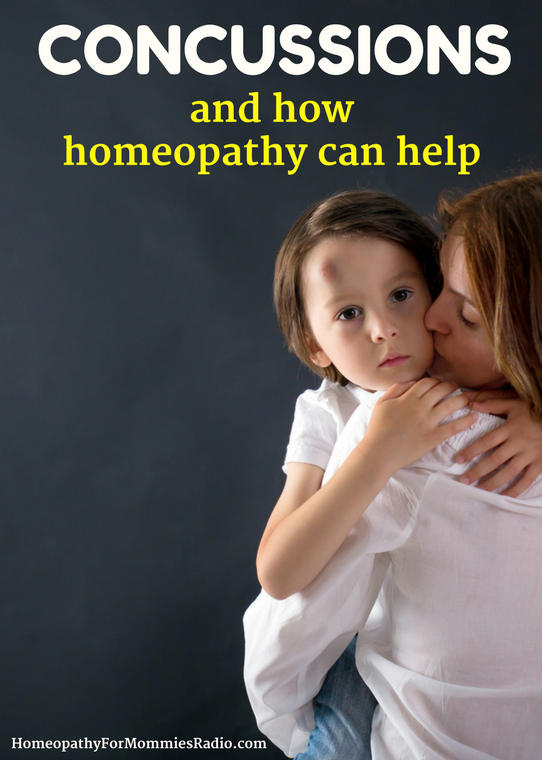 Concussions and How Homeopathy Can Help - with Sue Meyer of Homeopathy for Mommies