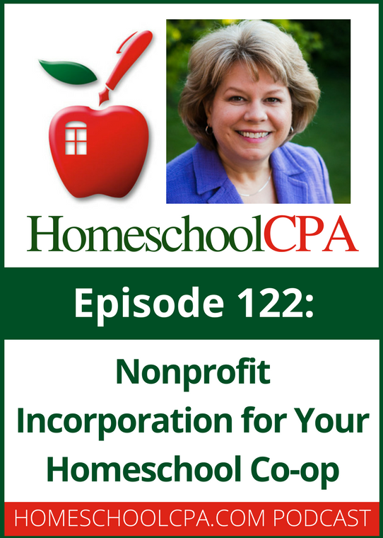 NonProfit Incorporation for your Homeschool Co-op