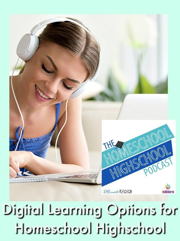 HSHSP Ep 105: Digital Learning Options for Homeschool Highschool