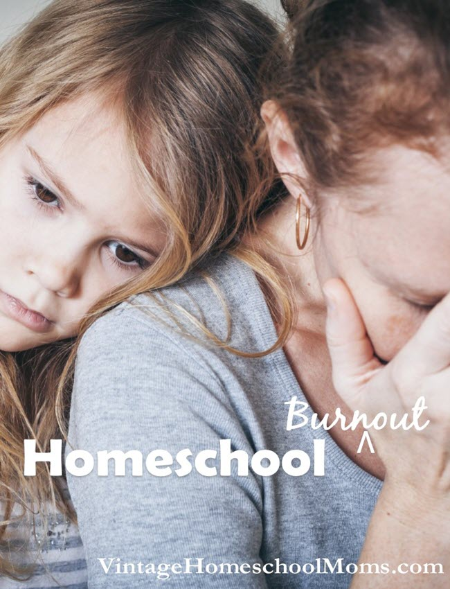 how to avoid homeshcool mom burnout