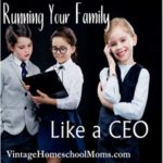 Running Your Family Like A CEO