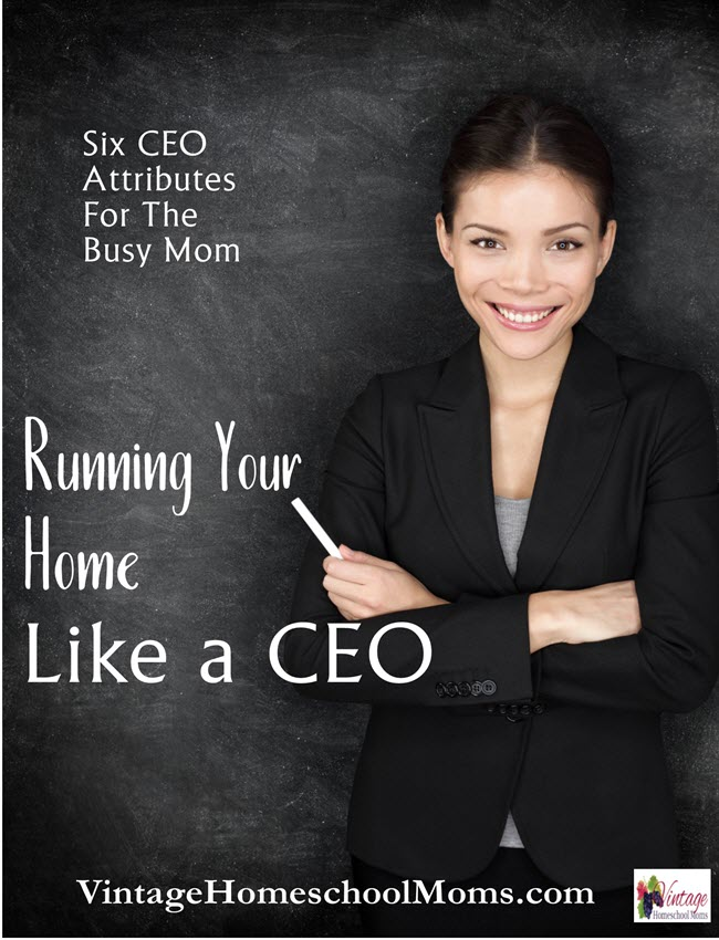 running your home like a CEO