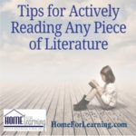 Tips for Actively Reading Any Piece of Literature
