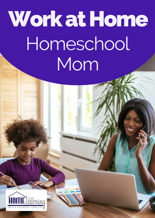 Are you a work from home homeschool mom?