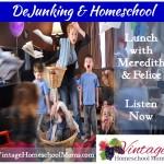 Vintage HS Moms – De-Junking & Homeschool Organization