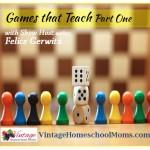 Vintage HS Moms – Games That Teach Part One
