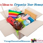 Episode 75- Ideas to Organize Your Homeschool