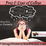 Pros and Cons of College for Homeschoolers