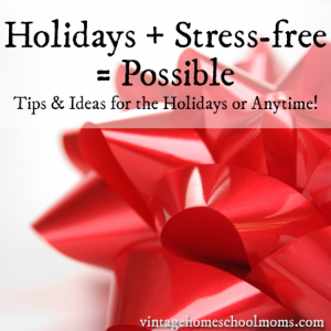 Stress free holidays2