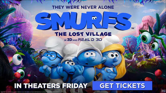 smurfs movie the lost village