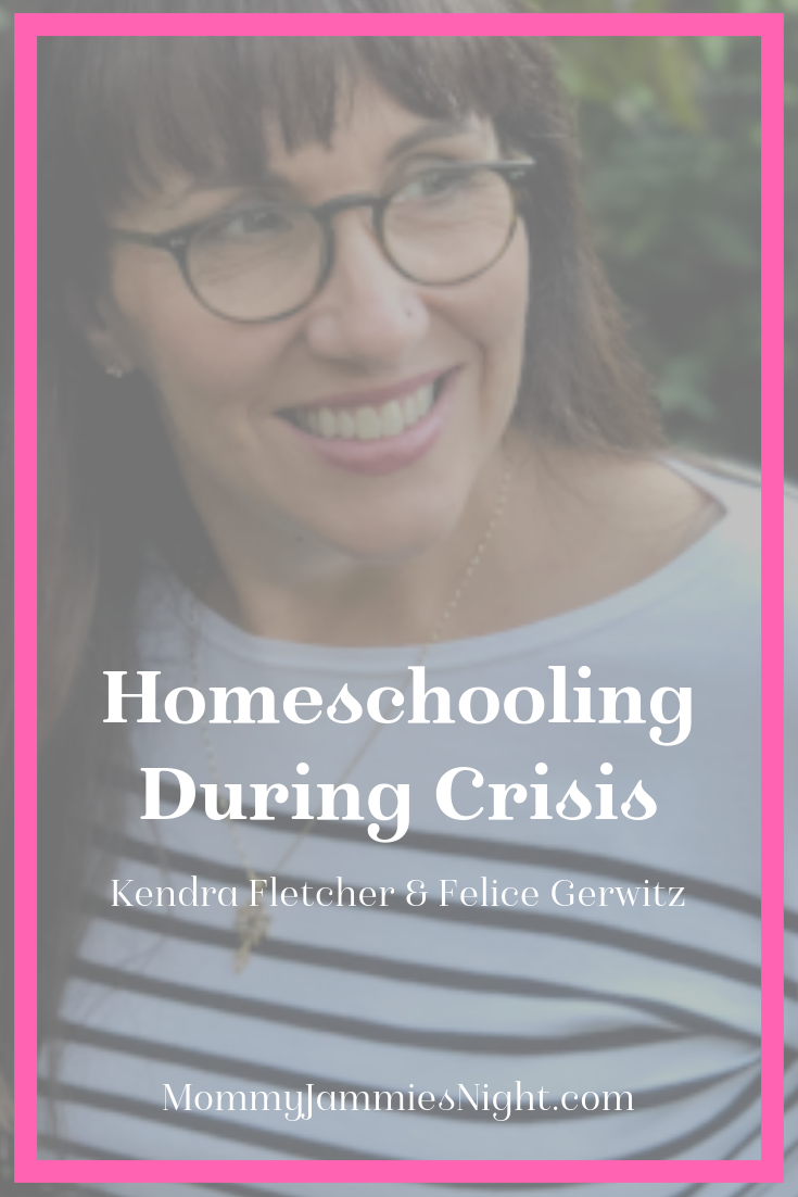 Homeschooling During Crisis | Mommy Jammies Night