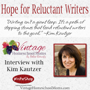 Hope for reluctant writers | tips for reluctant writers