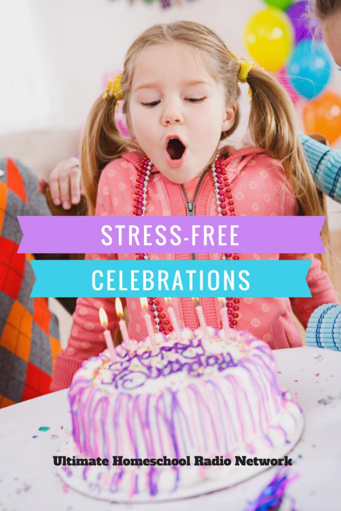 Stress-free celebration
